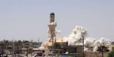 داعش نے موصل کی تاریخی جامع مسجد النوری کو شہید کر دیا