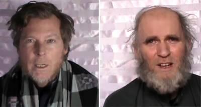 طالبان نے امریکی اور آسٹریلوی یرغمالی پروفیسروں کی ویڈیو جاری کر دی