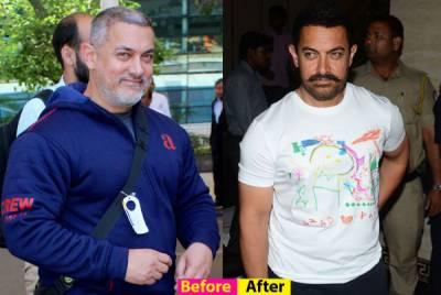 عامر خان نے نئی فلم کیلئے 50 کلو وزن کم کر لیا
