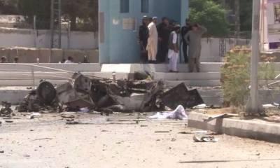 کوئٹہ: دھماکے میں پولیس اہلکاروں سمیت 13 افراد شہید