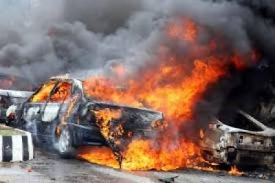 پارہ چنار میں بم دھماکے، 25 افراد جاں بحق