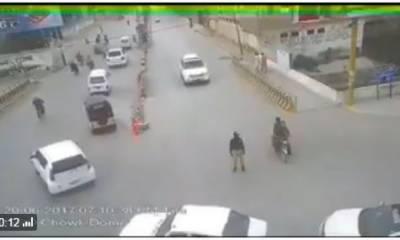 کوئٹہ،ٹریفک سارجنٹ کو کچلنے والا مجید اچکزئی گرفتارکرلیاگیا