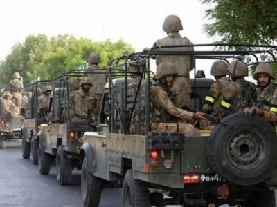 بلوچستان میں آپریشن ردالفساد کامیابی سے جاری; ڈیرہ بگٹی،کاہان اور پشین میں کالعدم تنظیم کا اہم رکن گرفتار