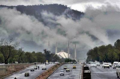 عید کی تعطیلات کے دوران اسلام آباد، بالائی پنجاب، بالائی خیبرپختونخوا اور کشمیر میں بارش کی پیش گوئی