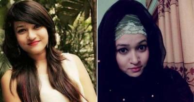 معروف بنگلا دیشی اداکارہ راہ راست پر چل پڑی