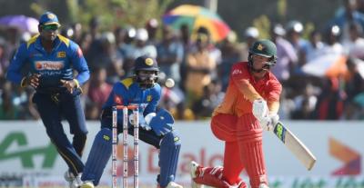 زمبابوے نے سری لنکا کو شکست دیکر سیریز میں برتری حاصل کر لی
