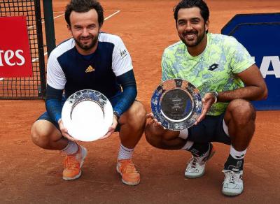 اعصام الحق نے مینز ڈبل اےٹی پی ٹینس چیمپئن شپ جیت لی