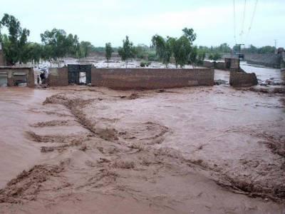 بلوچستان میں سیلاب نے تباہی مچا دی، 12 افراد جاں بحق