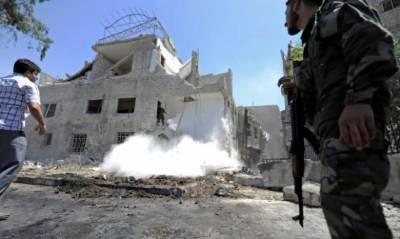 دمشق: خودکش حملے میں 7 افراد جاں بحق، ہلاکتوں میں اضافے کا خدشہ