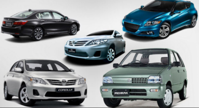 اٹھارہ سو سی سی سے زائد کی گاڑیوں پرٹیکس میں کمی