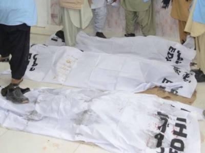 شکارپور میں جتوئی برادری کے 2 گروپوں میں تصادم ، 7 افراد جاں بحق ، 3 زخمی