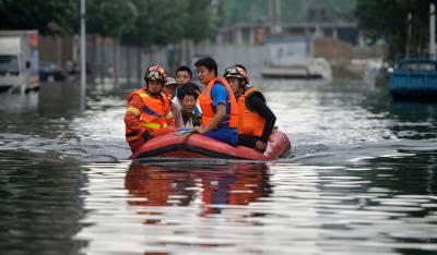 چین میں شدید بارشوں کے نتیجے میں سیلابی صورتحال پیدا ہوگئی