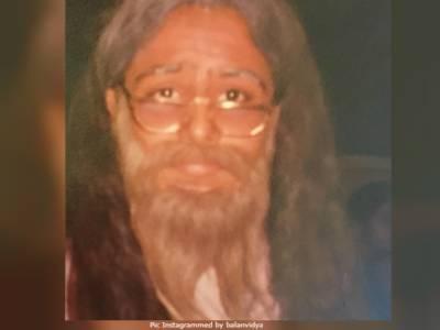 """ودیا بالن کی """"مونچھ اور داڑھی"""" والی تصویر سوشل میڈیا پر وائرل"""
