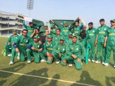 وزیراعظم نواز شریف نے بلائنڈ کرکٹ ورلڈ کپ کیلئے 2 کروڑ روپے جاری کر دیئے