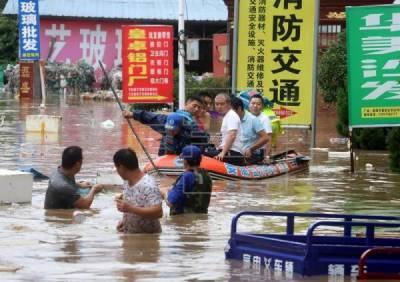 چین: تیز بارشوں،سیلاب سے 27 افراد ہلاک، 8 لاپتہ