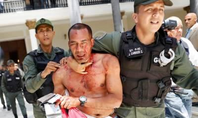 وینزویلا کی قومی اسمبلی پر حکومت کے حامی گروہ کا حملہ