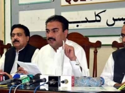 وزیر صحت بلوچستان کے قافلے پر حملہ، گارڈز کی فائرنگ سے حملہ آور فرار