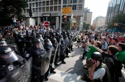 جرمنی 'جی ٹوئنٹی سمٹ کیخلاف ہزاروں افراد کے مظاہرے