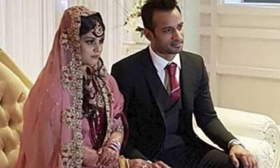 ہاکی ٹیم کے سابق کپتان محمدعرفان نے برطانیہ میں شادی کر لی