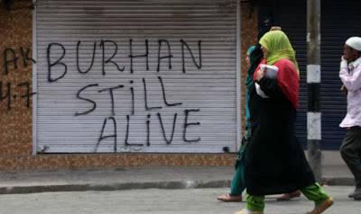 حریت کانفرنس کی طرف سے برہان وانی کو تمغہ جرات دینے کا اعلان