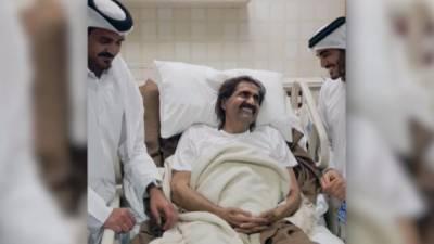 امیرِ قطر کے والد کی
