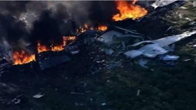 امریکی فوجی طیارہ میسی سیپی کے کھیتوں میں گر کر تباہ ہو گیا ، 16فوجی ہلاک