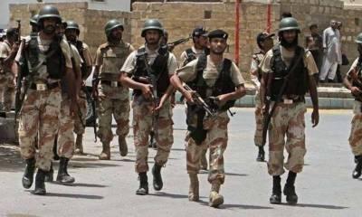 کراچی: رینجرز کے خصوصی اختیارات میں توسیع کیلئے سمری وزیر اعلیٰ سندھ کو ارسال