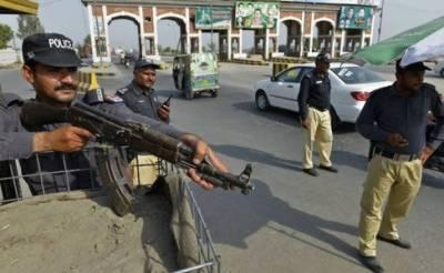 جرائم پیشہ افراد کے خلاف پولیس کی کارروائی، 25 اشتہاری ملزمان سمیت 39 افراد گرفتار