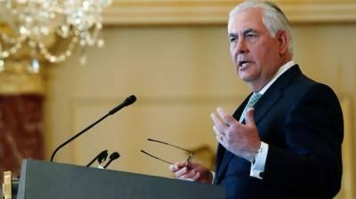 ٹلرسن قطر تنازعے کے حل کے لیےبدھ کو سعودی عرب سے مذاکرات کریں گے