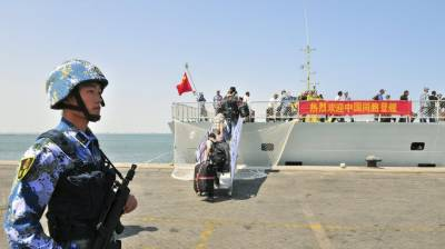 جبوتی، چین کے فوجی دستے پہلے غیرملکی فوجی اڈے کے لیے روانہ