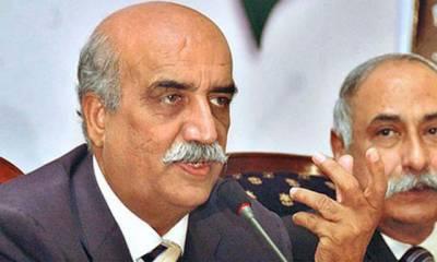 وزیراعظم مستعفیٰ نہ ہونے کی ضد چھوڑ کر فی الفور استعفیٰ دے کر کسی اور کو موقع دیں، خورشید شاہ