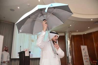حجاج کرام کیلئے ایئر کنڈیشنڈ چھتری متعارف