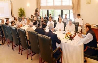 وزیراعظم کی زیر صدارت وفاقی کابینہ کا اجلاس شروع ہو گیا