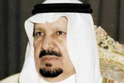 سعودی عرب کے شہزادہ عبدالرحمن بن عبدالعزیز آل سعود انتقال کر گئے