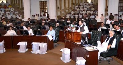کے پی اسمبلی میں پی ٹی آئی کی وزیراعظم کے استعفیٰ کیلئےقراردادجمع