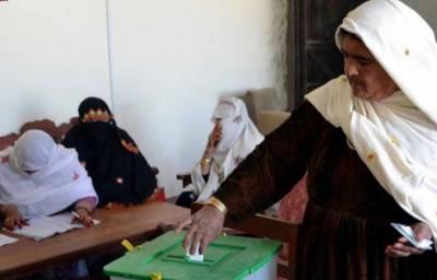 بلوچستان: این اے 260 پر ضمنی انتخاب کیلئے پولنگ جاری