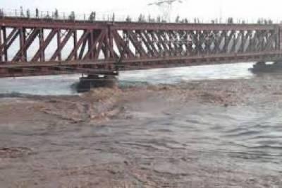 سیالکوٹ: دریائے چناب کے پانی میں کمی ہوگئی