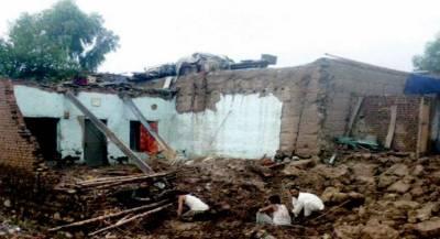 ملک بھر میں موسلادھابارش ، چھتیں گرنے اور سیلاب میں بہنے سے ماں اور دو بچیوں سمیت 4افراد جاں بحق ، 15 زخمی