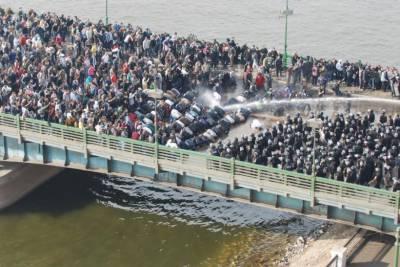 مصر:نیل کے جزیرے میں پولیس اور مظاہرین میں جھڑپیں، ایک ہلاک، 50 زخمی