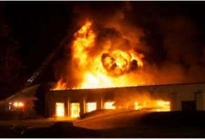 گھانا کی پارلیمنٹ میں اچانک آگ لگ گئی