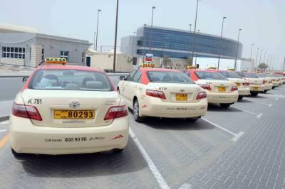 دبئی میں ٹیکسی کرائے دنیا بھر میں سستے ترین