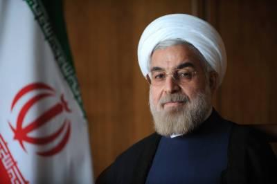 امریکا نے نئی پاپندیاں لگائیں تو ایران بھر پور جواب دے گا: روحانی