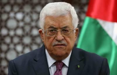 مسجد اقصیٰ کشیدگی، اسرائیل سے تمام رابطے معطل کر دیئے ہیں، محمود عباس