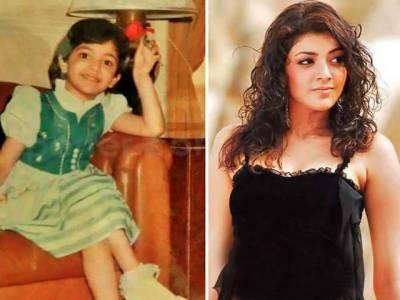 اداکارہ کاجل اگروال کی نایاب تصویر سوشل میڈیا پر وائرل