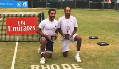 پاکستانی ٹینس اسٹار اعصام الحق نے امریکا میں تاریخ رقم کردی