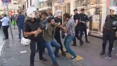 ترکی: انقرہ مظاہروں میں ملوث 61 افراد گرفتار
