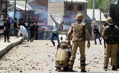 بھارتی پولیس نے متعد د حریت رہنماوں کو گرفتار کرلیا، تجارتی مراکز بند ، سڑکوں پر ٹریفک معطل