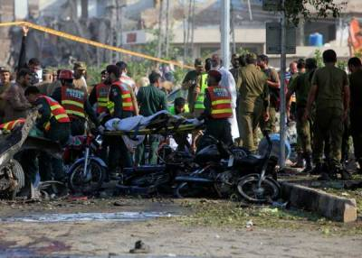 لاہور دھماکے میں استعمال ہونے والی موٹر سائیکل کا سراغ لگا لیا گیا