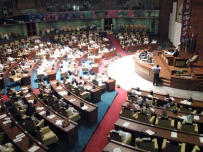 سندھ اسمبلی اجلاس، وزیراعظم سے فوری مستعفی ہونے کی قرارداد منظور
