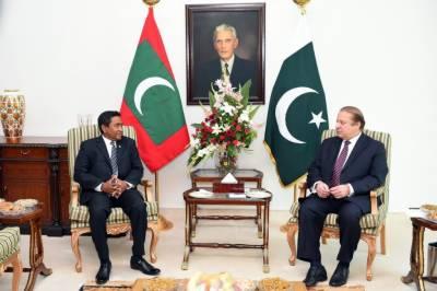پاکستان کا مالدیپ کیساتھ متعدد شعبوں میں تعاون بڑھانے پر اتفاق